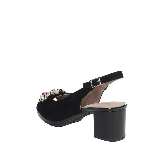 Pitillos Shoes Sandals Black 5564