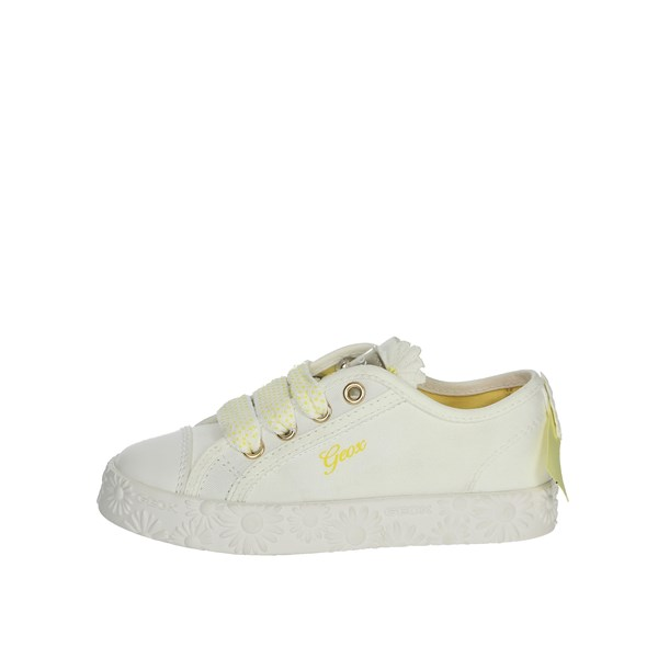 Geox Shoes Sneakers White J9204K