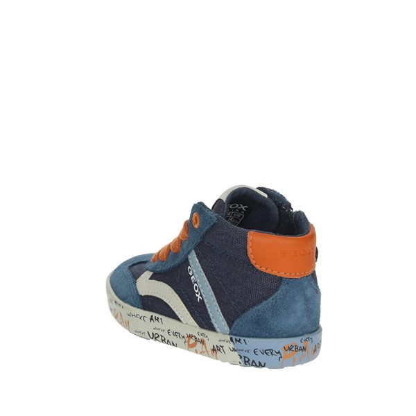 Geox Shoes Sneakers Blue B92A7E