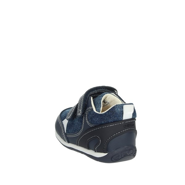 Geox Shoes Sneakers Blue B920BD