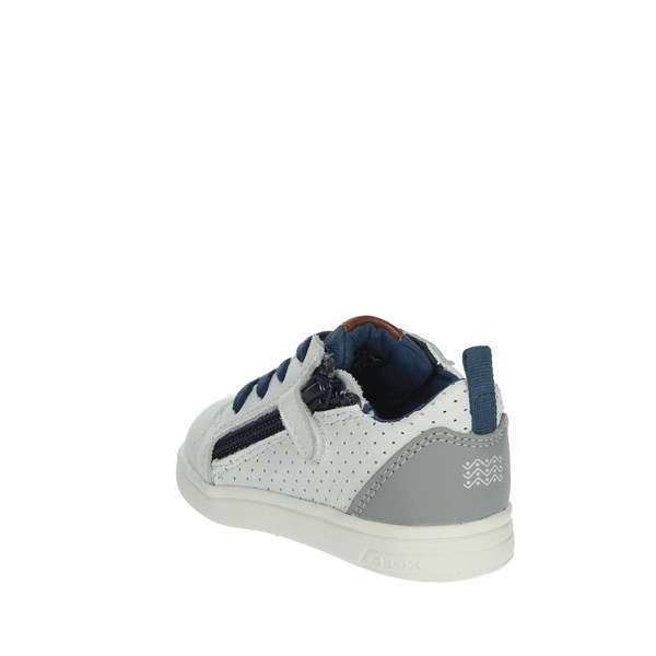 Geox Shoes Sneakers White/Blue B922CA