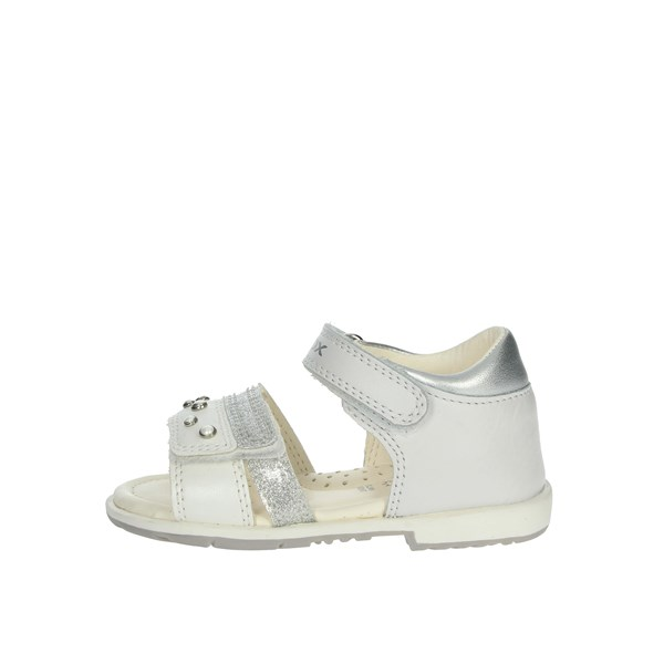 Geox Shoes Sandals White B9221A