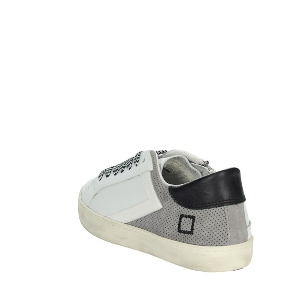 D.a.t.e. Shoes Sneakers White/Grey HILL LOW  JR