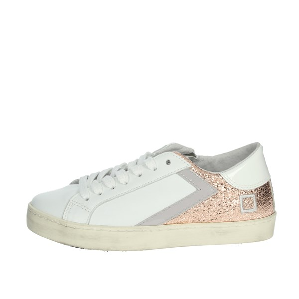 D.a.t.e. Shoes Sneakers White/Pink HILL LOW  JR