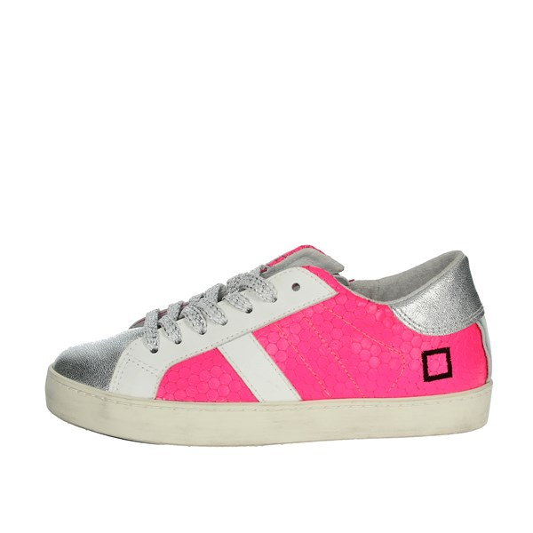 D.a.t.e. Shoes Sneakers Fuchsia HILL LOW  JR