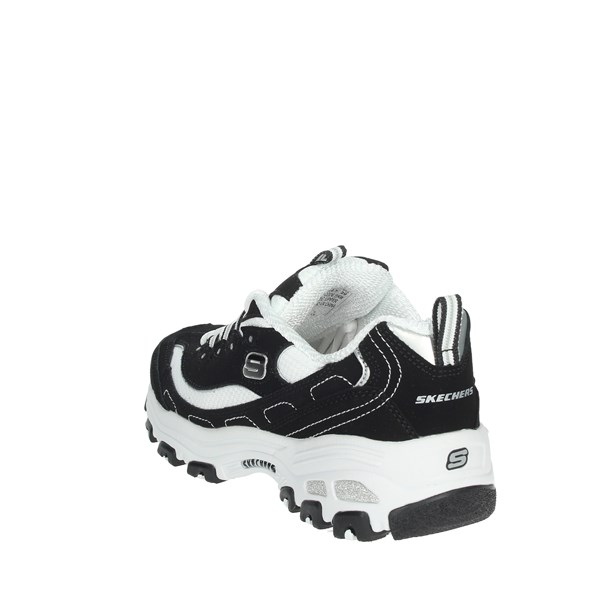 <Skechers Shoes Sneakers Black/White 80587L/BKW