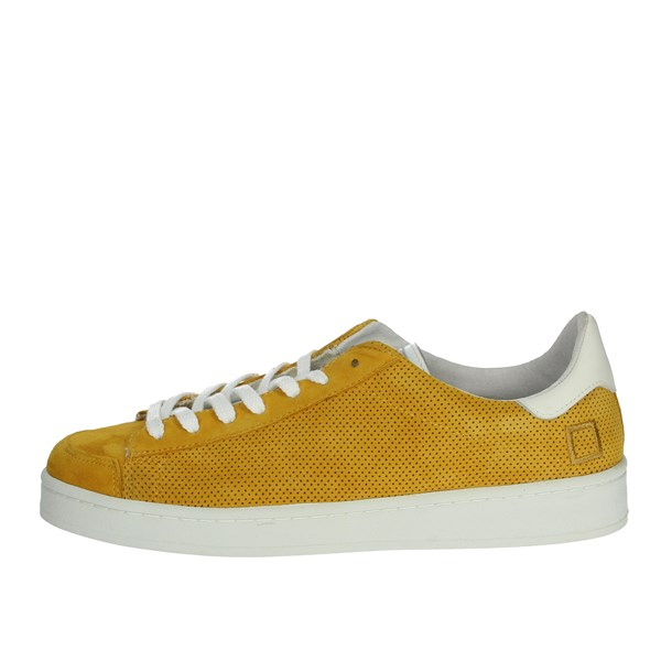 D.a.t.e. Shoes Sneakers Yellow TWIST-42I