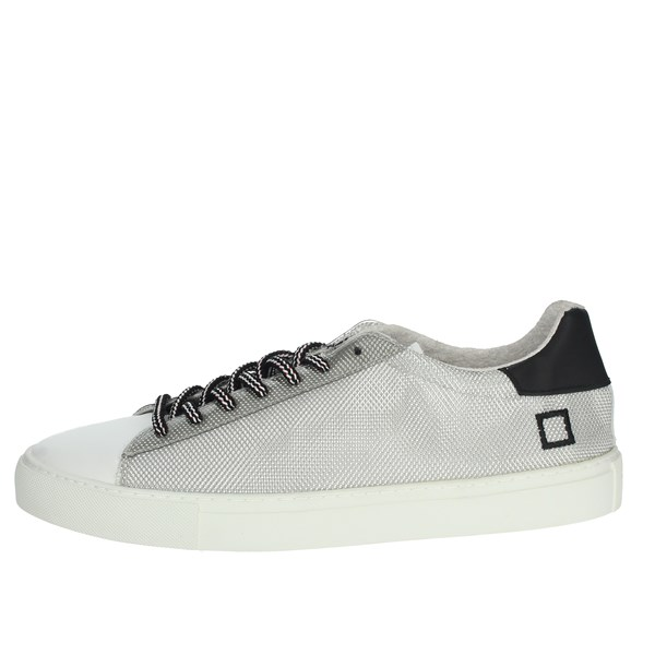 D.a.t.e. Shoes Sneakers White/Silver NEWMAN-44