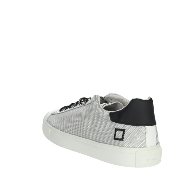 <D.a.t.e. Shoes Sneakers White/Silver NEWMAN-44