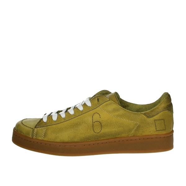D.a.t.e. Shoes Sneakers Yellow TWIST-50