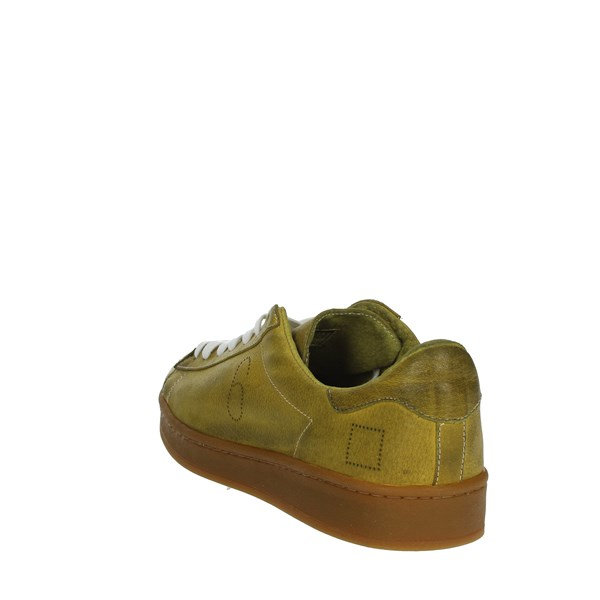 <D.a.t.e. Shoes Sneakers Yellow TWIST-50