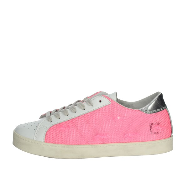 D.a.t.e. Shoes Sneakers Fuchsia HILL LOW-58