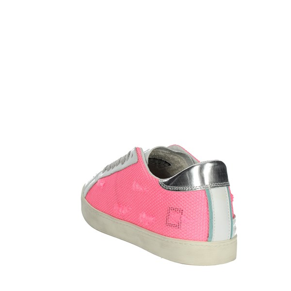 <D.a.t.e. Shoes Sneakers Fuchsia HILL LOW-58