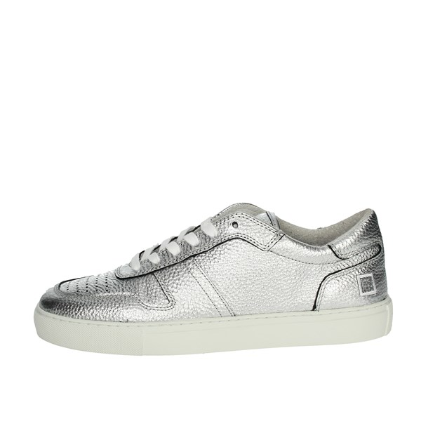 D.a.t.e. Shoes Sneakers Silver COURT-59
