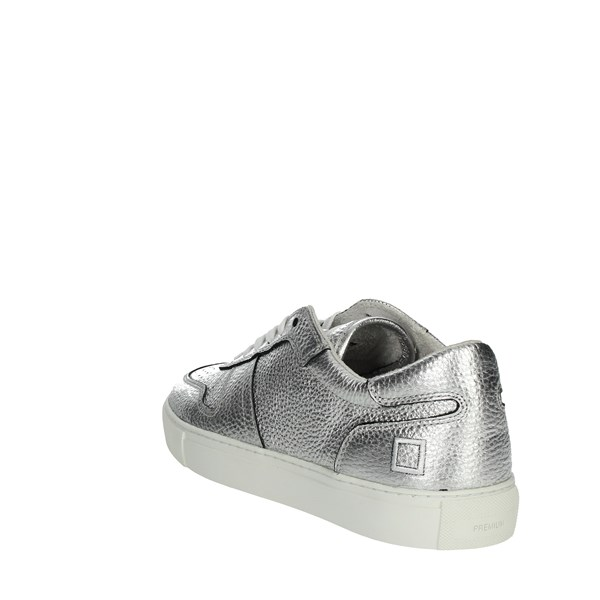 <D.a.t.e. Shoes Sneakers Silver COURT-59