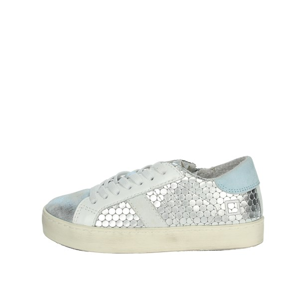 D.a.t.e. Shoes Sneakers Silver HILL LOW-C
