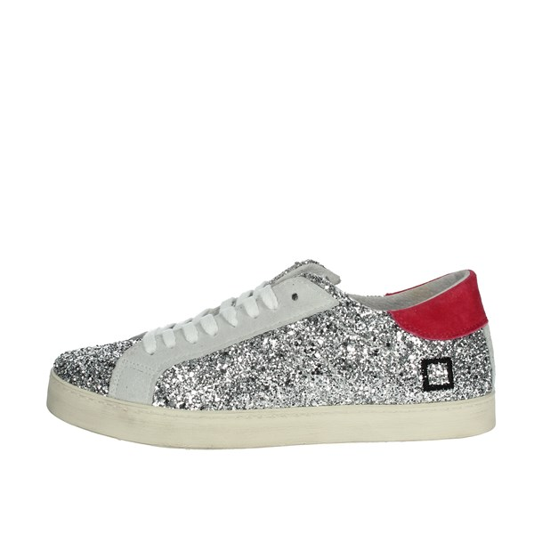 D.a.t.e. Shoes Sneakers Silver HILL LOW-I