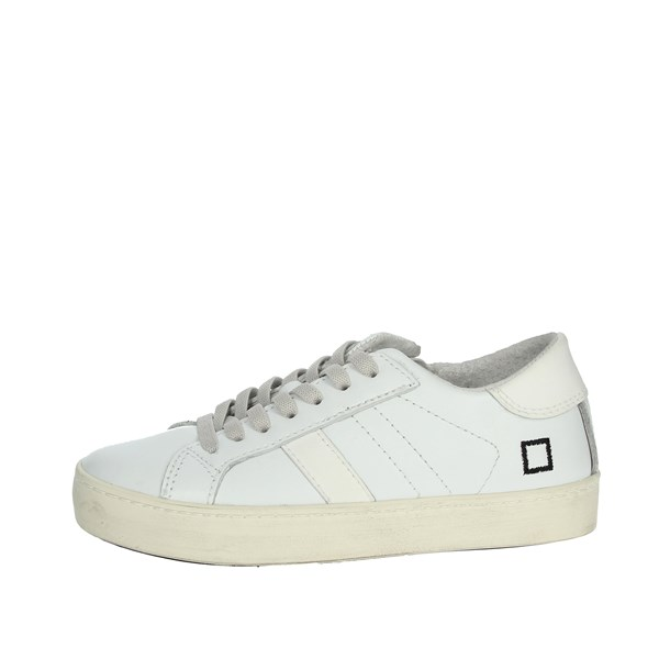 D.a.t.e. Shoes Sneakers White HILL LOW-L