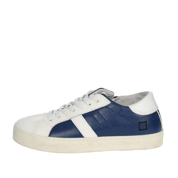 D.a.t.e. Shoes Sneakers Blue/White HILL LOW-R