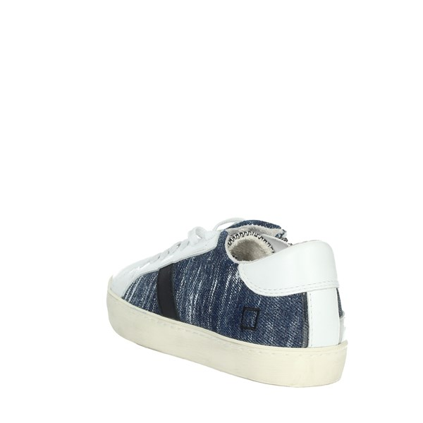 D.a.t.e. Shoes Sneakers Blue/White HILL LOW-S