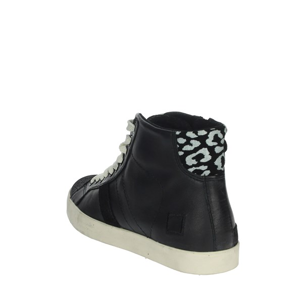 D.a.t.e. Shoes Sneakers Black HILL HIGH-71I