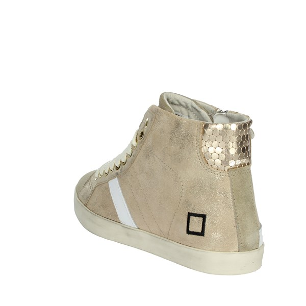 D.a.t.e. Shoes Sneakers Gold HILL HIGH-72I