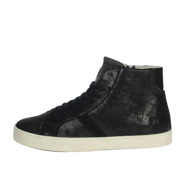 D.a.t.e. Shoes Sneakers Black HILL HIGH-74I