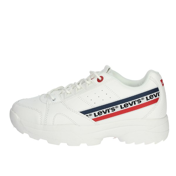 Levi's Shoes Sneakers White VSOH0001S