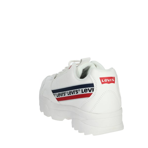 <Levi's Shoes Sneakers White VSOH0001S