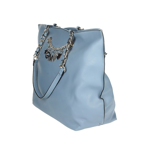 Gianmarco Venturi Accessories Bags Sky-blue G10-0079M03