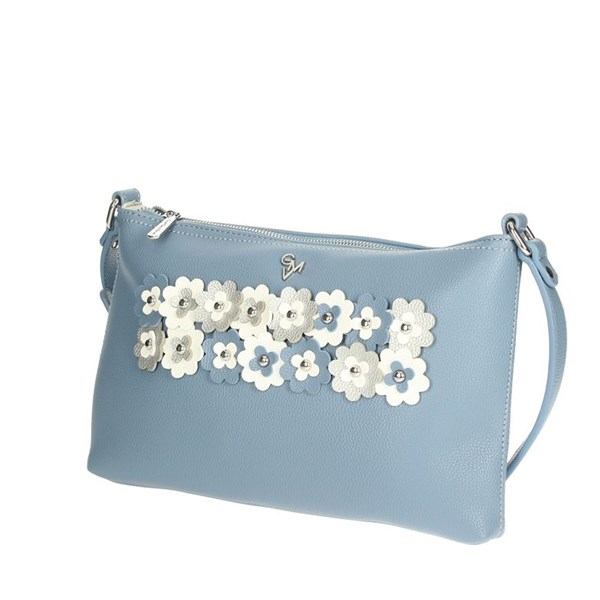 Gianmarco Venturi Accessories Bags Sky-blue G10-0076M06