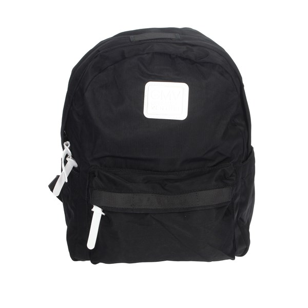 Gianmarco Venturi Accessories Backpacks Black G10-0074M07