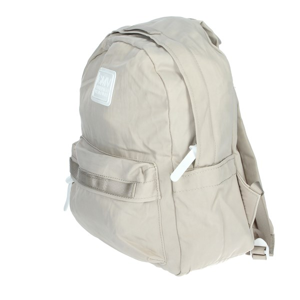 Gianmarco Venturi Accessories Backpacks Beige G10-0074M07