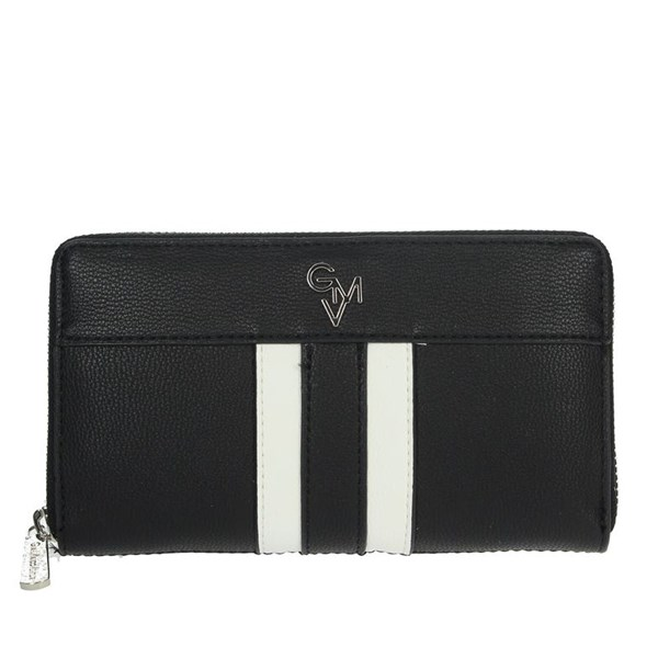 Gianmarco Venturi Accessories Wallets Black/White G56-0080P32