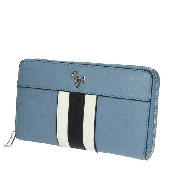 Gianmarco Venturi Accessories Wallets Sky-blue G56-0080P32