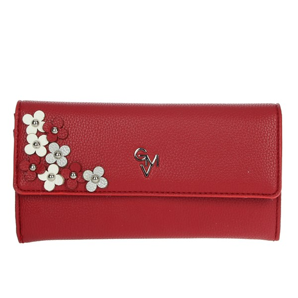 Gianmarco Venturi Accessories Wallets Red G56-0076P33