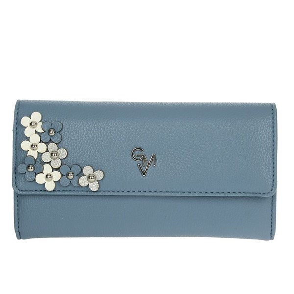 Gianmarco Venturi Accessories Wallets Sky-blue G56-0076P33