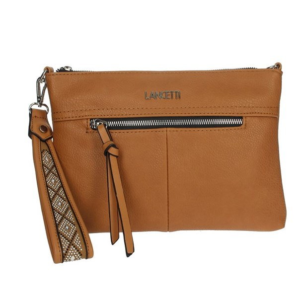 Lancetti Accessories Bags Brown leather LBPD0006CH3