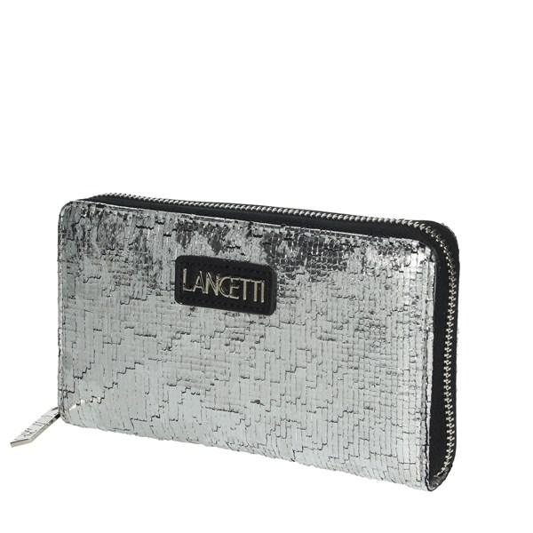 Lancetti Accessories Wallets Silver LWPD0003L32