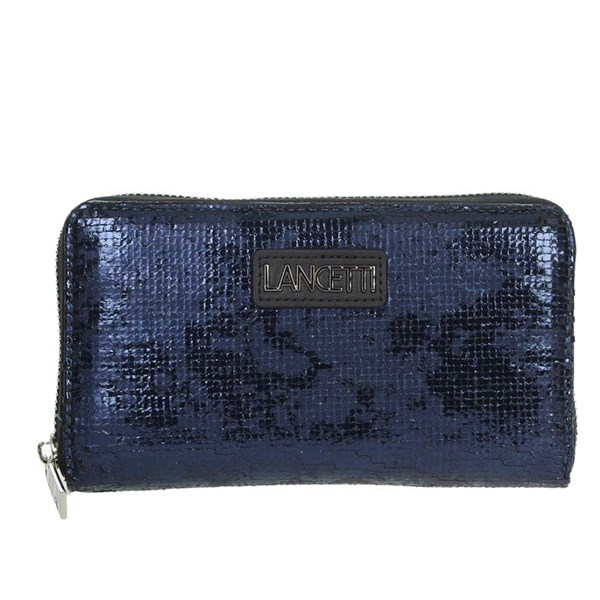 Lancetti Accessories Wallets Blue LWPD0003L32