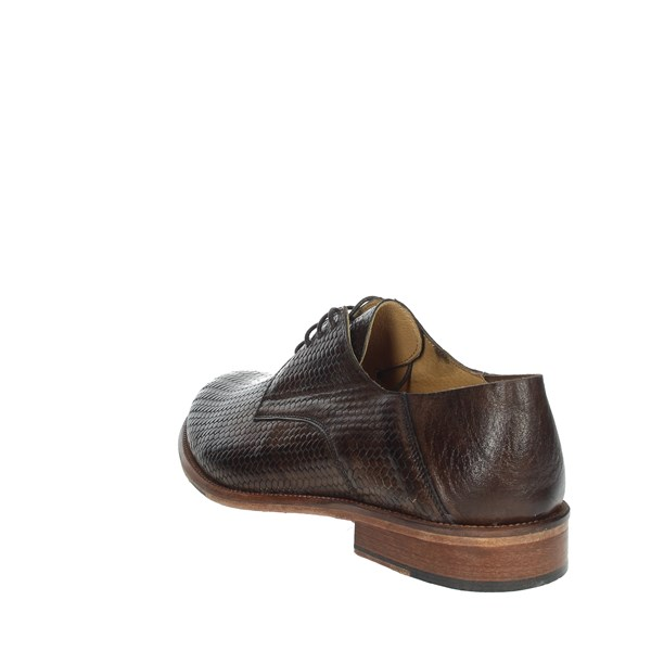 Exton Shoes Brogue Brown 3102