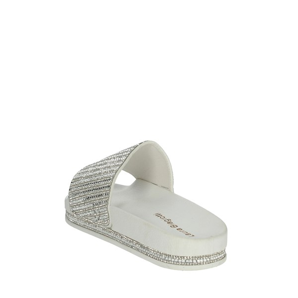 Laura Biagiotti Shoes slippers White 5394