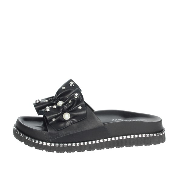 Laura Biagiotti Shoes slippers Black 5398
