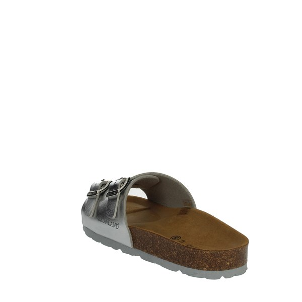 Grunland Shoes slippers Silver CB1686-40