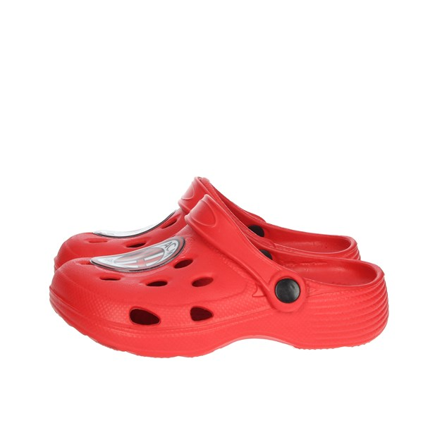 Milan Shoes Clogs Red S19068
