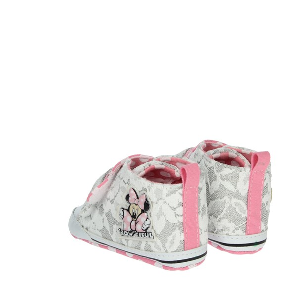 Disney Minnie Mouse Shoes Baby cot White/Pink S21103