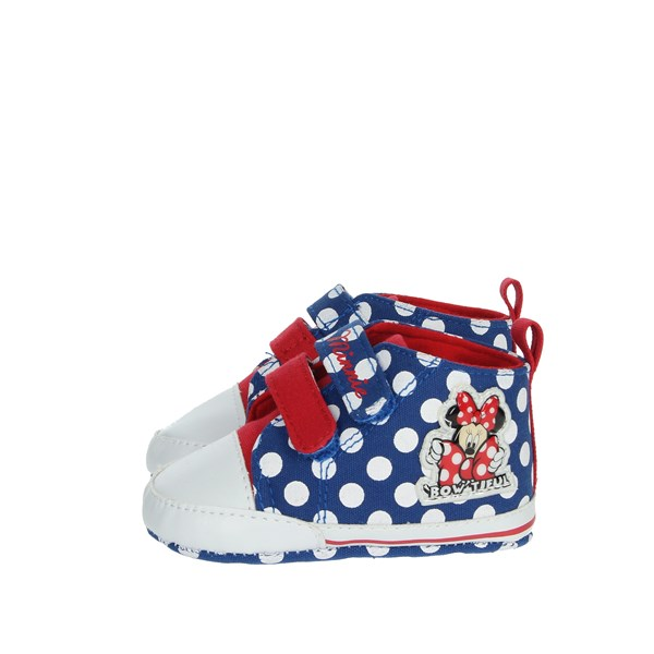 Disney Minnie Mouse Shoes Baby cot Blue S21103