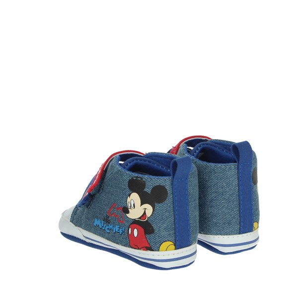 Disney Mickey Mouse Shoes Baby cot Blue S21100