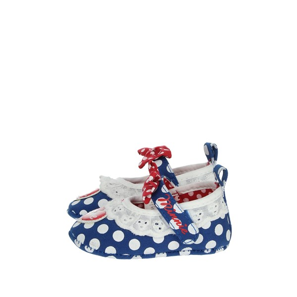 Disney Minnie Mouse Shoes Baby cot Blue S21104