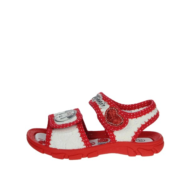 Disney Minnie Mouse Shoes Sandals White/Red S21318